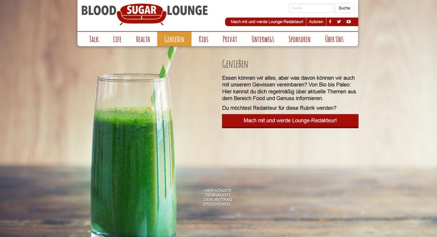 Sascha, Autor auf Blood Sugar Lounge
