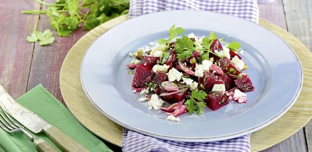 rezept rote bete salat mit feta. Black Bedroom Furniture Sets. Home Design Ideas