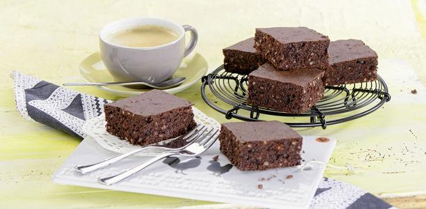 rezept schoko brownies mit mandeln. Black Bedroom Furniture Sets. Home Design Ideas