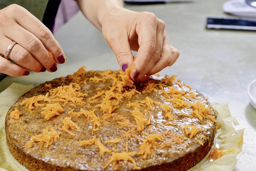 Rezept Karotten Nuss Torte